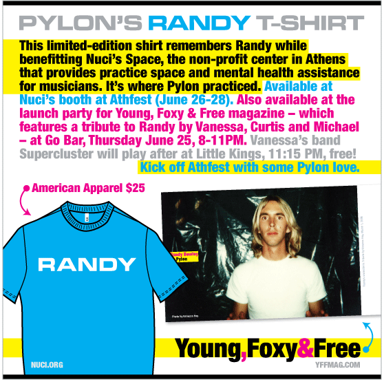 Pylon's Randy shirt